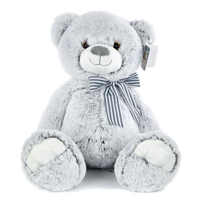 Large Grey Bear Soft Toy