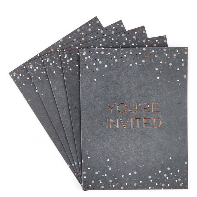 Celebration Invitations - Pack of 12
