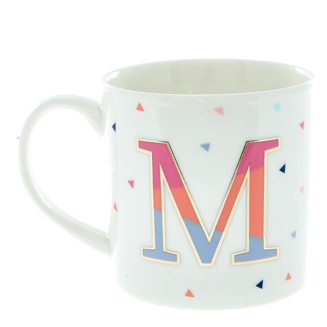Letter M Alphabet Mug