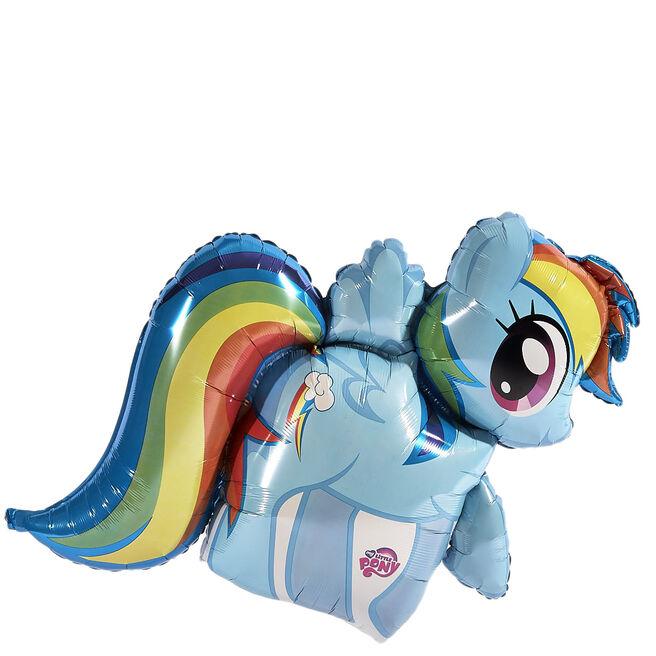 My Little Pony Rainbow Dash Supershape Balloon (Deflated)