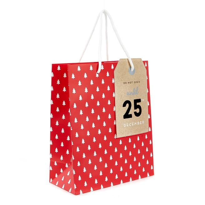 Small Christmas Gift Bag - Do Not Open