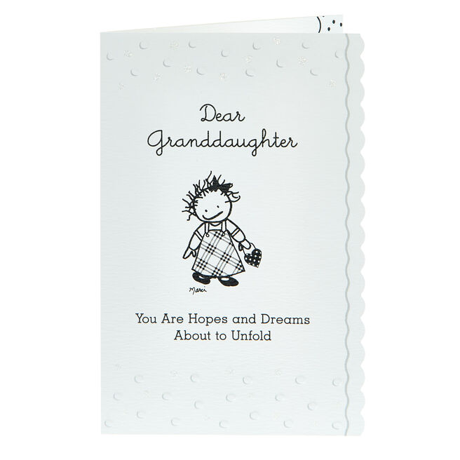 Blue Mountain Arts Card - Dear Granddaughter