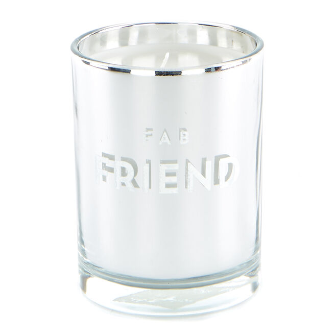 Fab Friend Vanilla Scented Candle
