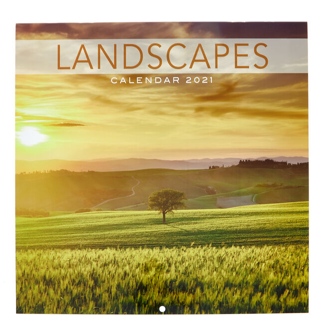 Landscapes 2021 Calendar