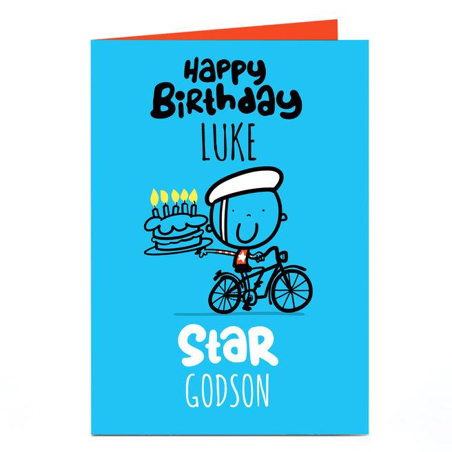 Personalised Fruitloops Birthday Card - Star Relation