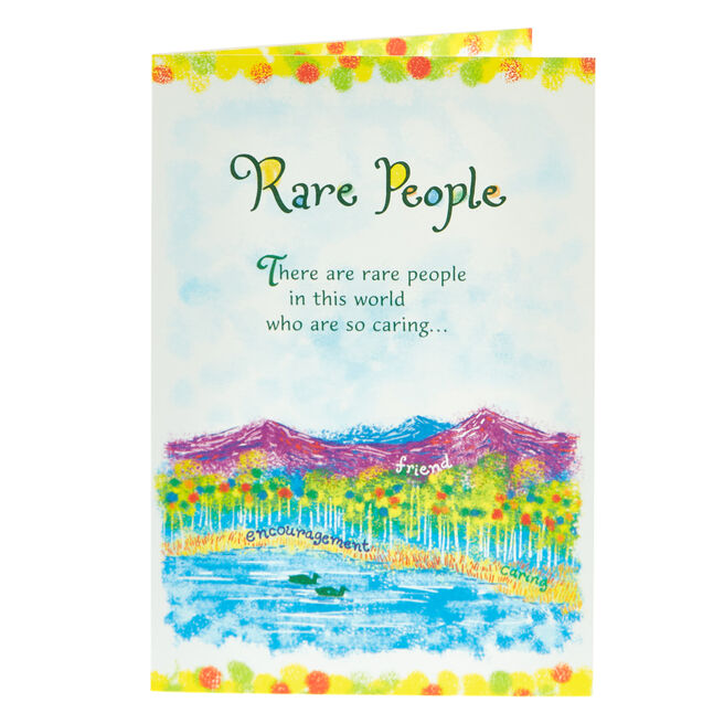Blue Mountain Arts Card - Rare People