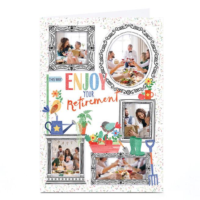 Photo Nik Golesworthy Retirement Card - Multi Photo Frames
