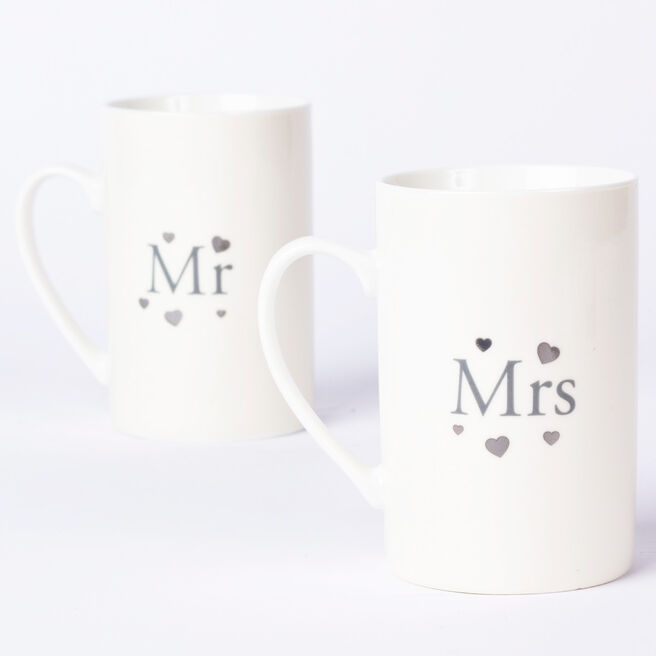 Hugs Wedding His & Hers Mug Set
