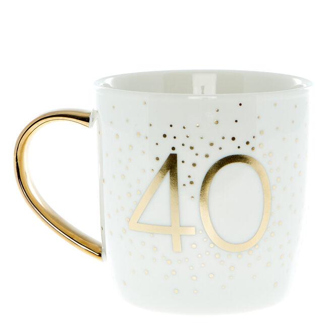 40th Birthday Mug In A Box - Happy Birthday To You