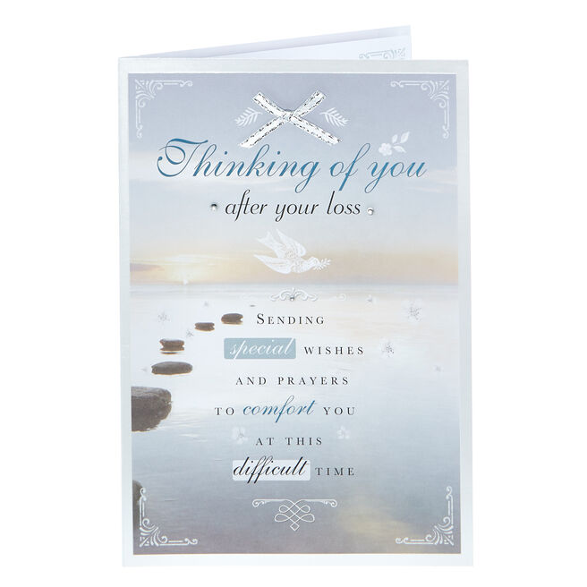 Sympathy Card - Prayers To Comfort You
