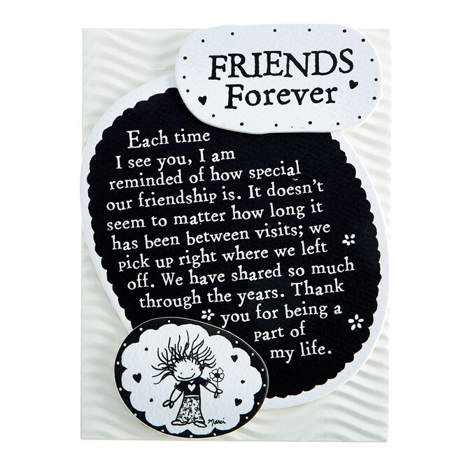 Blue Mountain Arts Magnet With Stand - Friends Forever