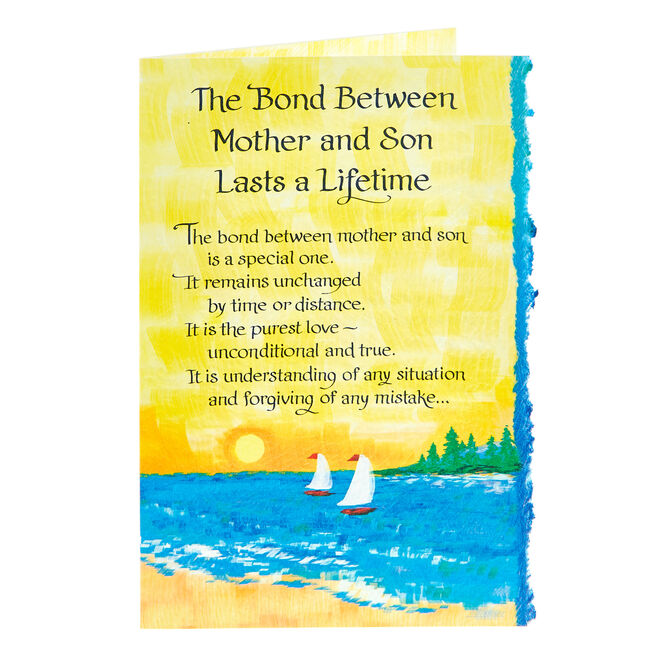 Blue Mountain Arts Card - Bond Between Mother & Son