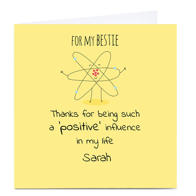 Personalised Cory Reid Card - Positive Influence