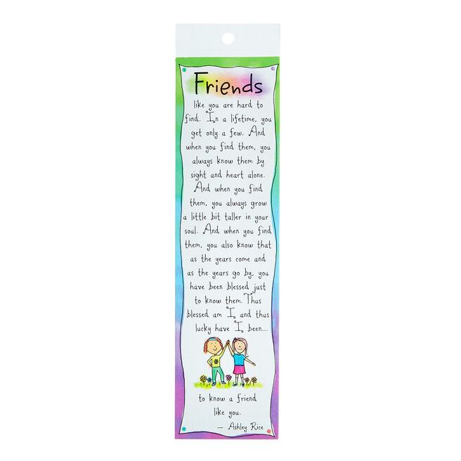 Blue Mountain Arts Bookmark - Friends Like You