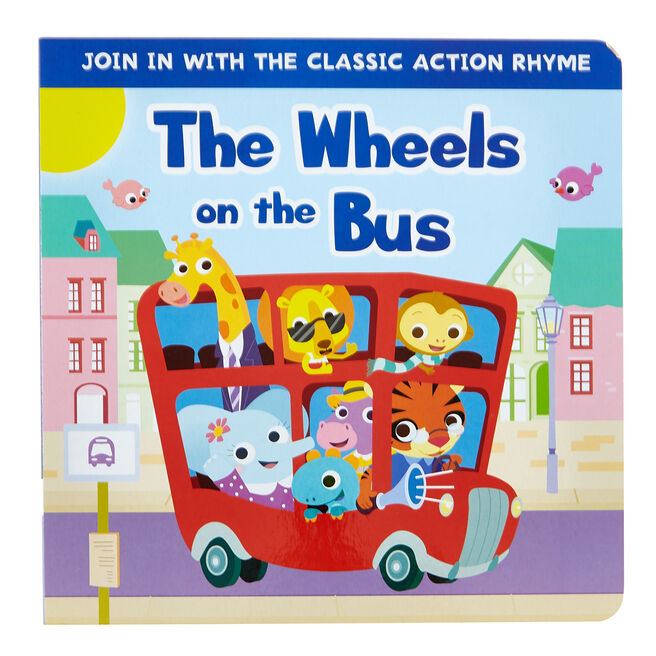 The Wheels On The Bus Fun Time Board Book