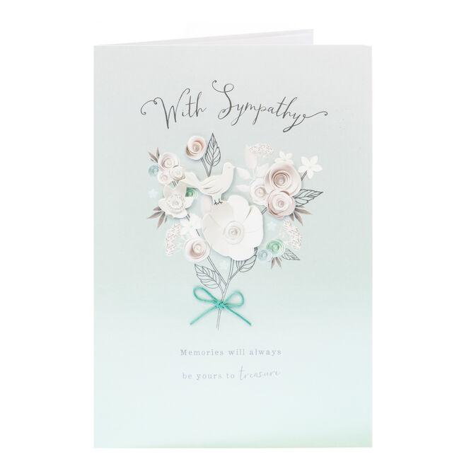 Sympathy Card - Treasured Memories