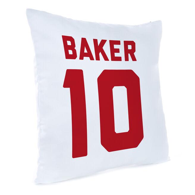 Personalised Football Cushion