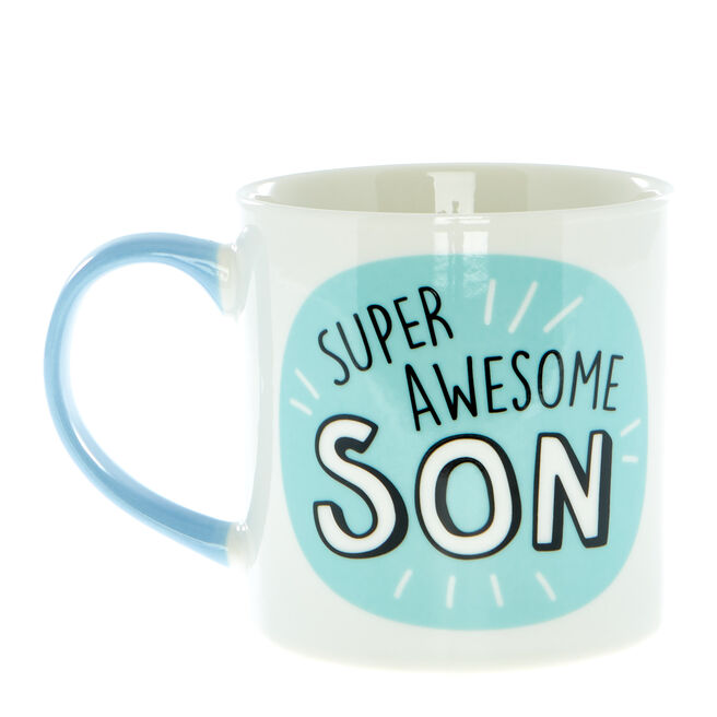 Super Awesome Son Mug