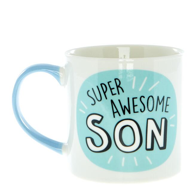Super Awesome Son Mug