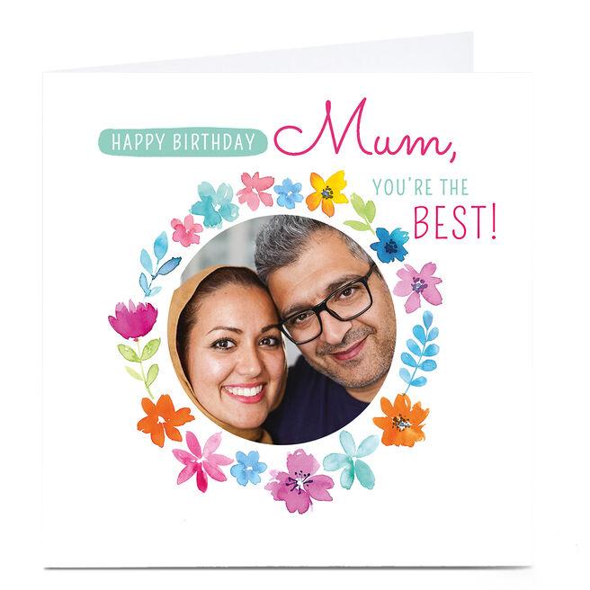 Photo Nikki Whiston Birthday Card - Mum