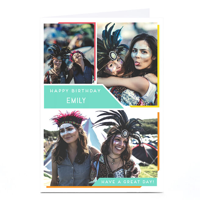 Personalised Photo Card - Collage
