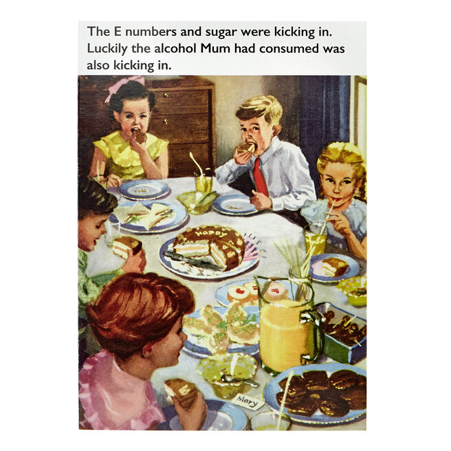 Ladybird Books Card - E Numbers & Sugar