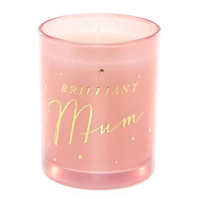 Brilliant Mum Vanilla Scented Candle