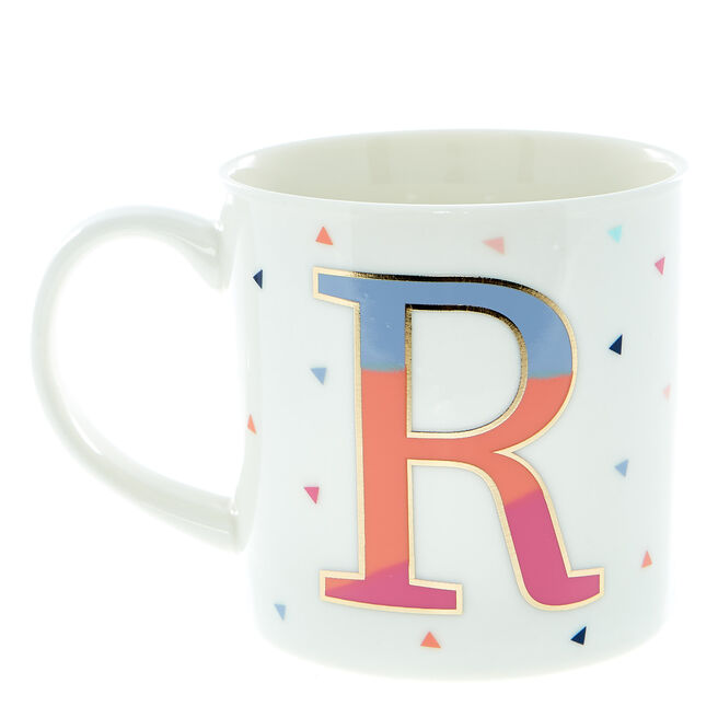 Letter R Alphabet Mug
