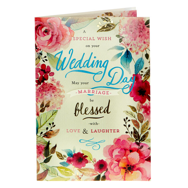 Wedding Card - May Your Marriage Be Blessed