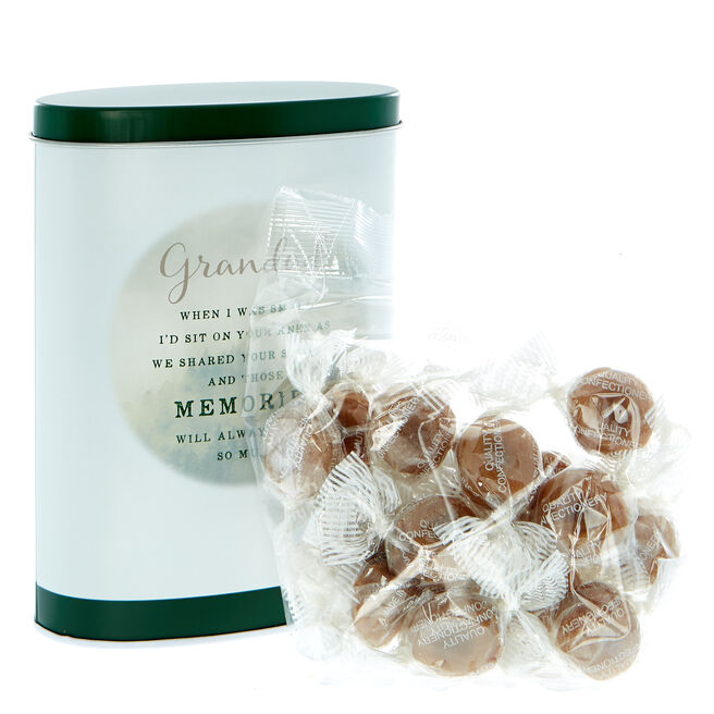 Grandad Butterscotch Sweets In A Tin