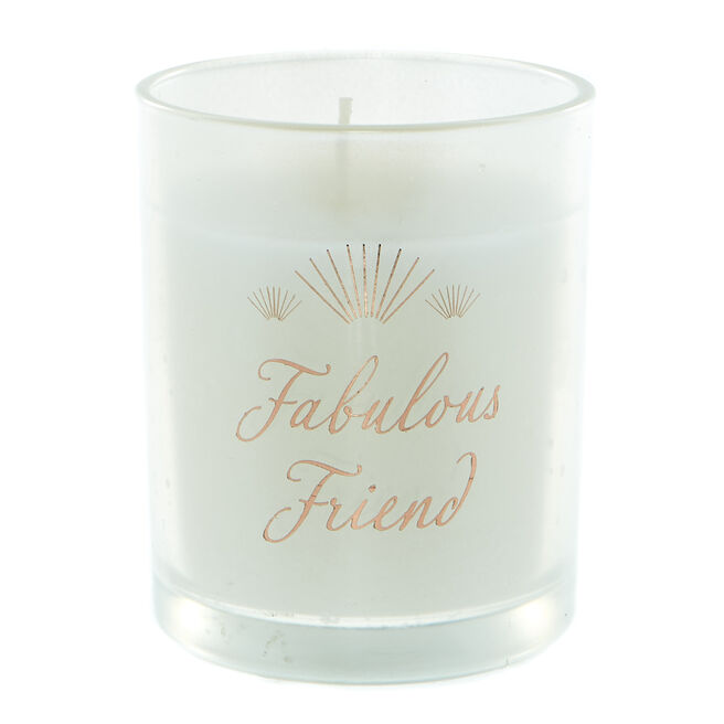 Fabulous Friend Vanilla Scented Candle