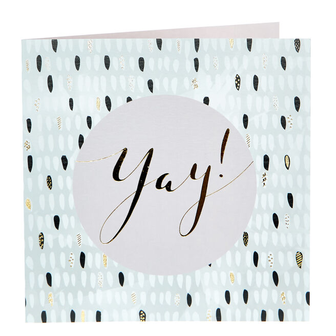 Any Occasion Card - Yay, Contemporary