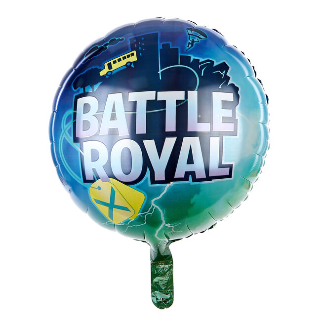 Battle Royale 17-Inch Foil Helium Balloon
