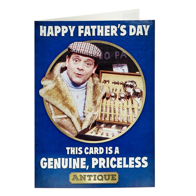Only Fools & Horses Father's Day Card - Priceless Antique