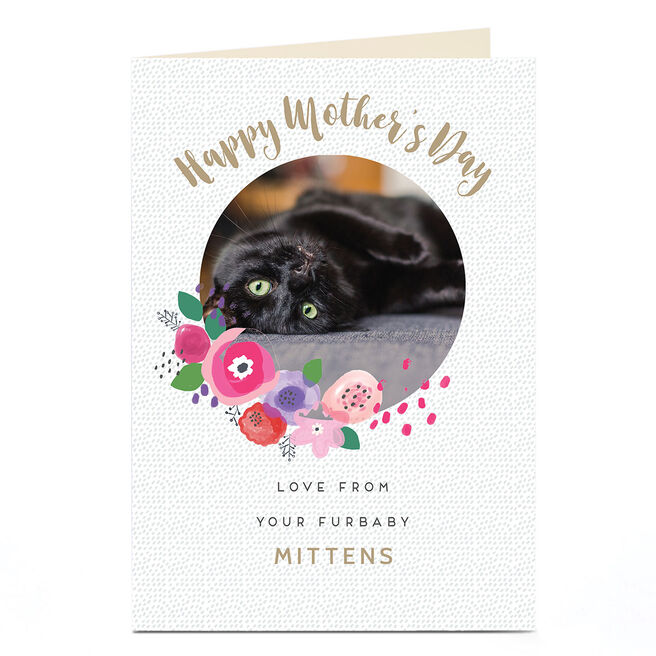 Photo Mother's Day Card - Love From Your Furbaby