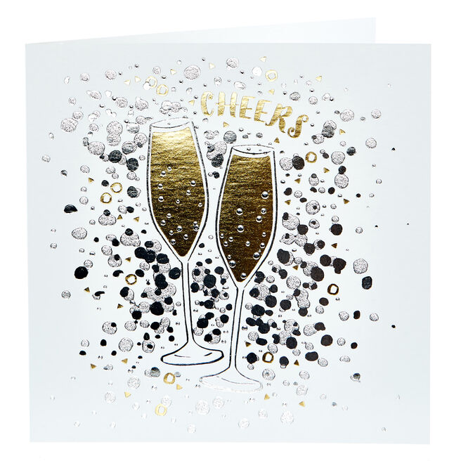 Any Occasion Card - Cheers, Bubbly