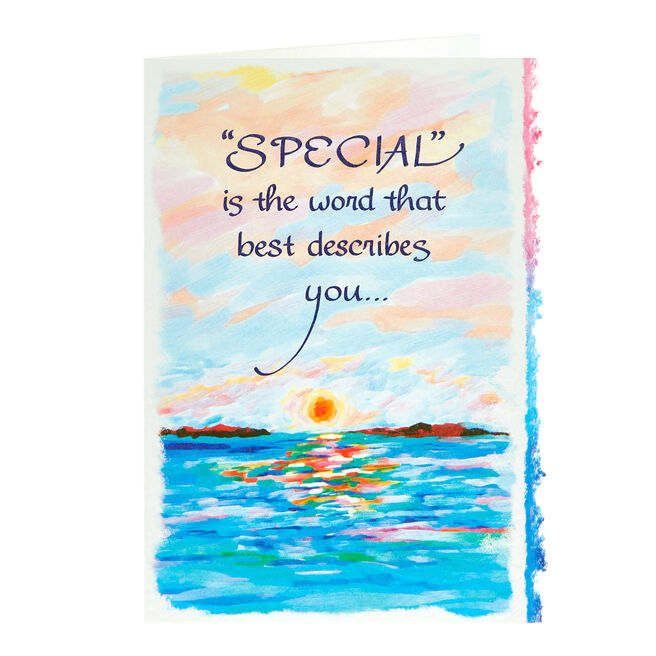 Blue Mountain Arts Card - Special Is The Word
