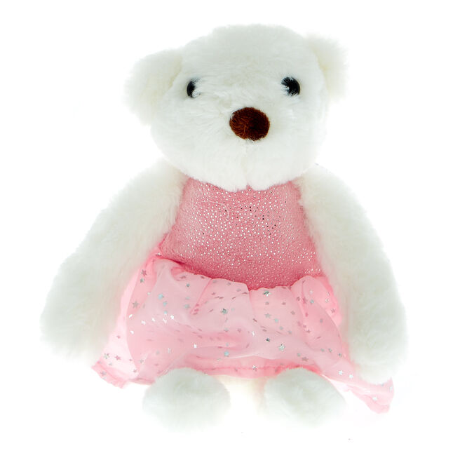Small Ballet Bear Soft Toy