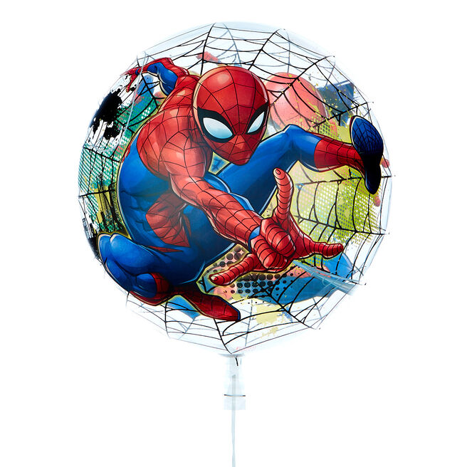 22-Inch Bubble Balloon - Marvel's Spider-Man - DELIVERED INFLATED!