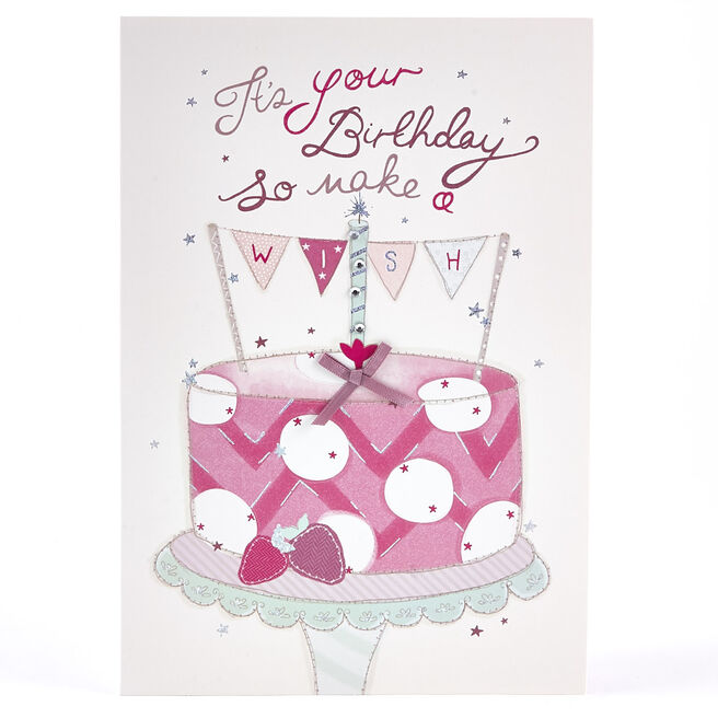 Birthday Card - Make A Wish