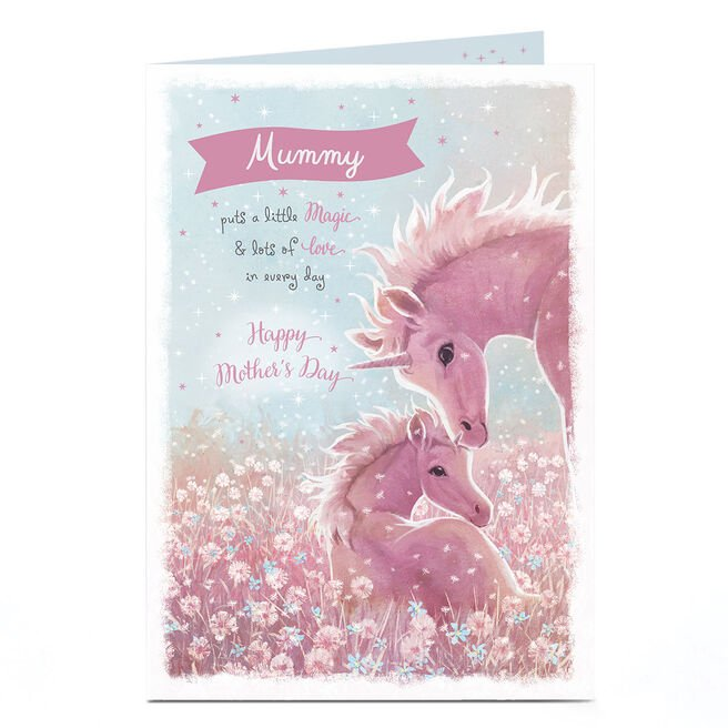 Personalised Mother's Day Card - A Little Magic