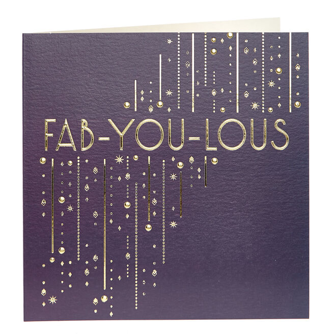Any Occasion Card - Fab-You-Lous