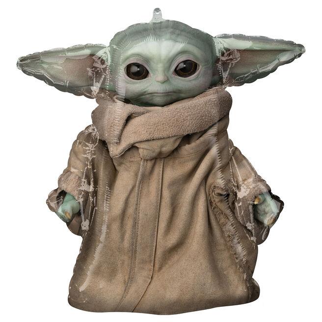 The Mandalorian Baby Yoda Foil Helium Balloon (Deflated)
