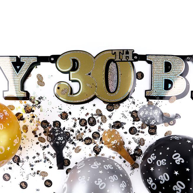30th Birthday Party Decoration Bundle