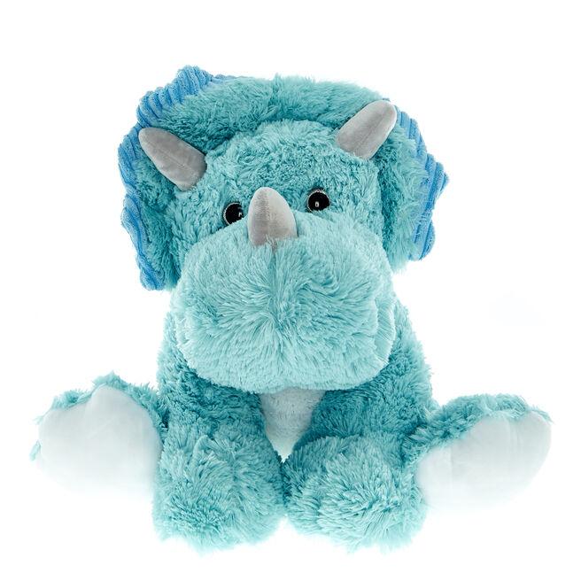 Large Blue Dinosaur Soft Toy