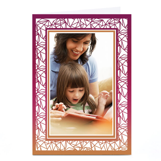 Photo Card - Graphic Frame