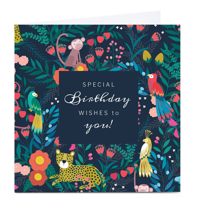 Personalised Klara Hawkins Birthday Card - Special Wishes