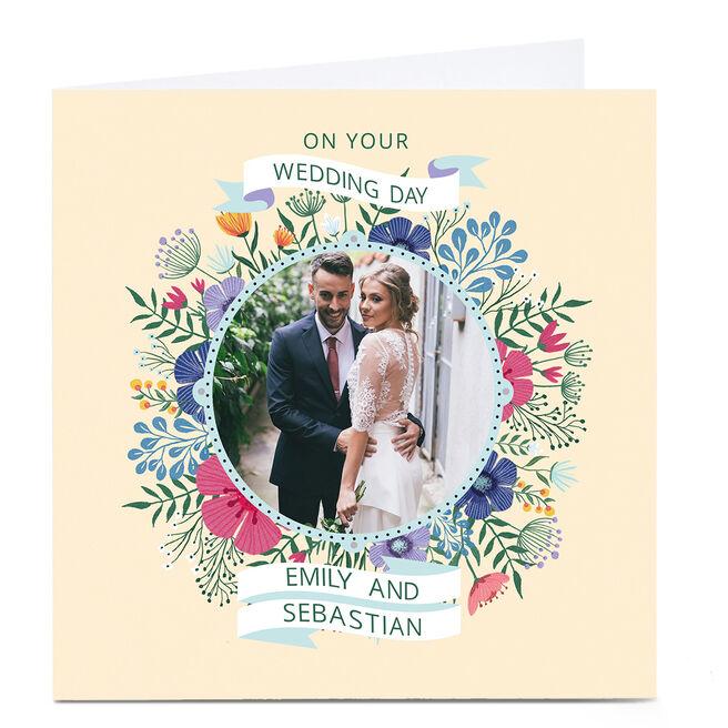Photo Dalia Clark Wedding Card - Floral
