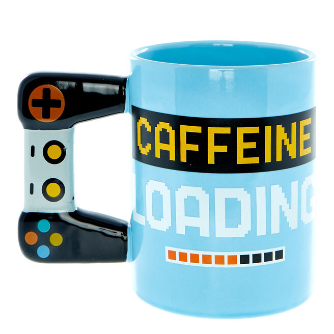 Caffeine Loading Novelty Gamer Mug