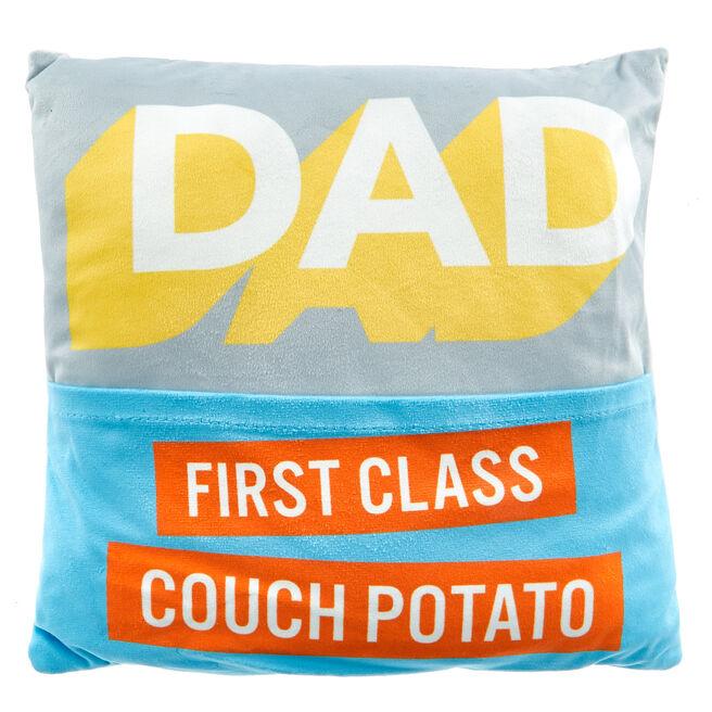 Dad Couch Potato Cushion